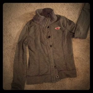 Hollister sweater jacket